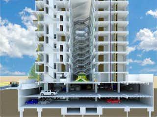 Un primer plano de una escena callejera con un edificio en Departamento en venta en Portales, 60m²