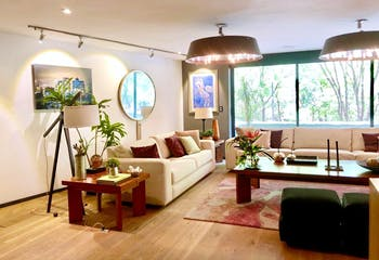 Departamento en venta en Polanco, 421 m² con terraza