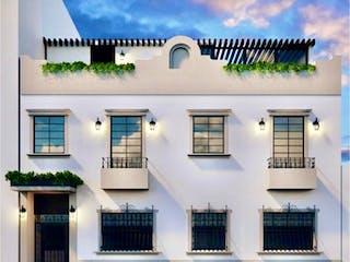 Una imagen de un edificio con muchas ventanas en Casa en venta en Juárez de 66m²