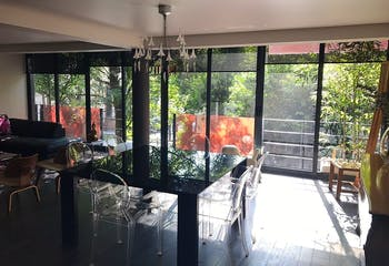 Departamento en venta en Polanco II Sección, 180 m² con balcón