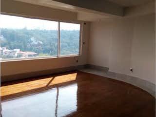 Una vista de una sala de estar desde una ventana en Casa en venta en Jardines En La Montaña 240m²