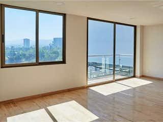 Una vista de una sala de estar con un gran ventanal en Departamento en Venta en San Jeronimo Lidice La Magdalena Contreras