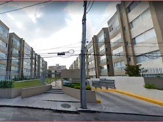 Una vista de una calle de la ciudad desde un edificio en Departamento en venta en Vergel Coapa, 80m²