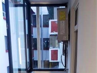 La vista del pasillo desde la puerta en Departamento en venta en Constitución De 1917 78m²