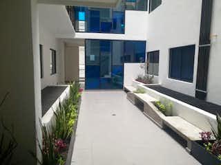 Una vista de una sala de estar y una sala de estar en Departamento en Venta en Santa Maria la Ribera Cuauhtémoc