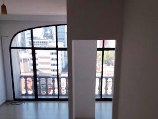 Un par de ventanas que están en una habitación en Departamento en venta en Colonia Cuauhtémoc, de 50mtrs2