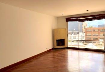 Apartamento en Bogota El Contador-Usaquén - con estudio y dos garajes