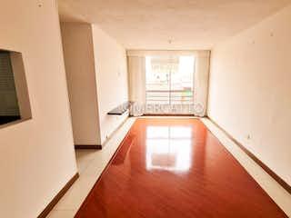 Una vista de una sala de estar y comedor en Apartamento en venta en Tibabita, 57m² con Gimnasio...