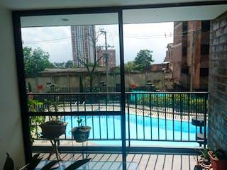 Una vista de un balcón desde una ventana en Apartamento en venta en Las Brisas, 94m² con Piscina...