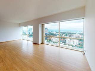 Una habitación muy bonita con una gran ventana en Departamento en venta de 138 mts, en Santa Fe de 3 recàmaras