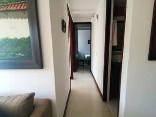 La vista del pasillo desde la puerta en  Venta de Apartamento en Rodeo Alto