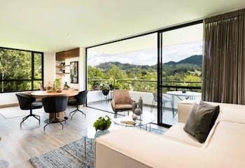 Proyecto de vivienda, Montry, Apartamentos en venta en Casco Urbano El Retiro 77m²