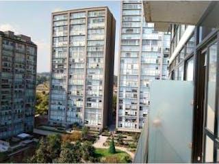 Una vista del horizonte de una ciudad desde la parte trasera de un tren en Departamento en venta en Olivar De Los Padres de 66m² con Zonas húmedas...