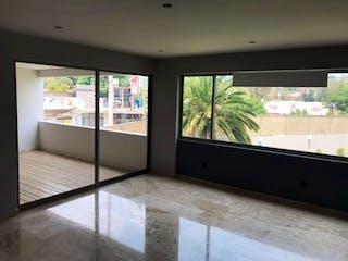 Una habitación con un gran ventanal y un gran ventanal en Departamento en Venta en San Jeronimo Lidice La Magdalena Contreras