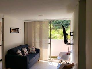 Una sala de estar llena de muebles y una ventana en Apartamento en venta en Rodeo Alto con Gimnasio...
