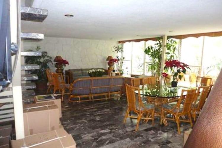 Portada Casa en venta en Tizapan 279m2 con jardín