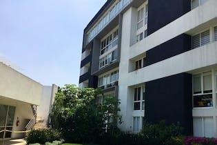 Departamento en venta en Tetelpan 99m2 jardin