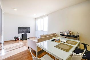 Departamento en venta en Santa Maria La Ribera, 63.4 m² con roof garden