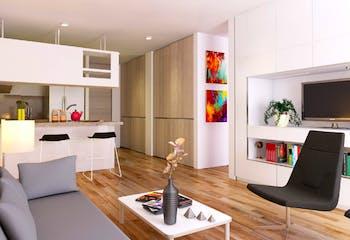 Vivienda nueva, Alameda 44, Apartamentos nuevos en venta en Palermo con 2 hab.