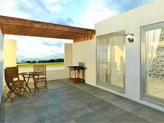 Una vista de una sala de estar y una sala de estar en Departamento en venta en Valle Esmeralda de 160m² con Jardín...