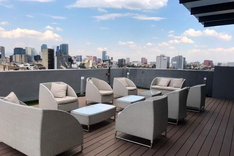 Foto 7 de Departamento en venta en Condesa, 115 m² con roof garden