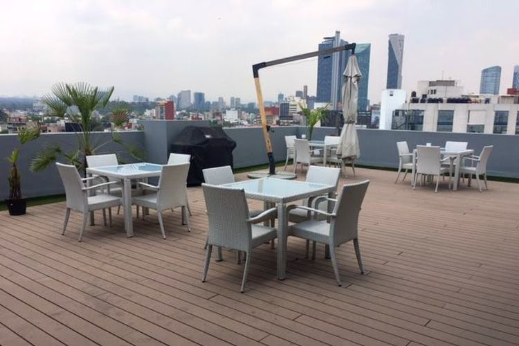 Foto 14 de Departamento en venta en Condesa, 115 m² con roof garden