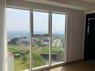 Una vista de una vista desde la ventana de una casa en Departamento en venta en Bosque Real Country Club de 2 hab. con Jardín...