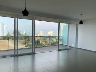 Una vista de una vista desde el interior de un edificio en Departamento en venta en Bosque Real Country Club de 193m² con Jardín...