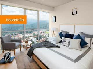 Una habitación de hotel con dos camas y una ventana en Departamento en Venta en Santa Fe Cuajimalpa Cuajimalpa de Morelos
