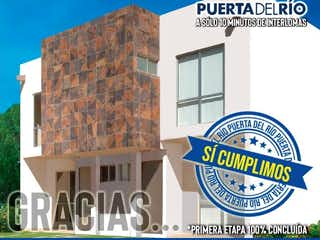 Una imagen de un edificio con una señal en él en Casa en venta en La Mancha 1 con Jardín...