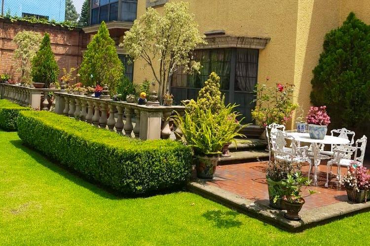 Portada Casa en venta en San Angel Inn, 610 m² con jardín