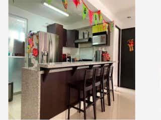 Una foto de una sala de estar muy bonita en Departamento en venta en Ampliación Nápoles de 2 hab.