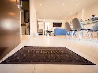 Una habitación muy bonita con una gran alfombra en Departamento en Venta en Satélite Tlalnepantla de Baz