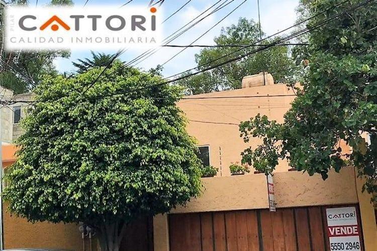 Portada Casa en venta en  Tizaopan con terraza 245 m²