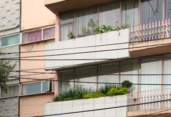 Departamento en venta en Col. Del Valle Centro, 110 m² con balcón