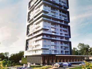 Un edificio alto con un reloj en la parte superior en Apartamento en Venta RIONEGRO