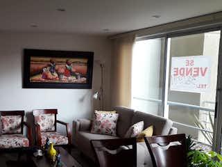 Una sala de estar llena de muebles y una pintura en Apartamento en venta en Nueva Zelandia, de 79,3mtrs2