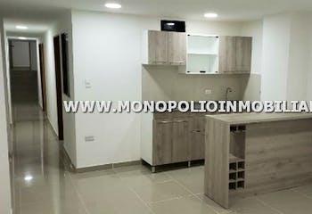 Apartamento en Loma de las Brujas, Envigado - 98mt, tres alcobas, balcón