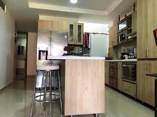 Cocina con nevera y horno de fogones en Apartamento en venta en Camino Verde de 3 habitaciones