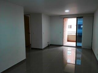 Una vista de un cuarto de baño con una puerta de cristal en Apartamento en venta en Zúñiga 80m² con Gimnasio...