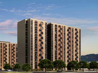 Un gran edificio con un gran edificio en el fondo en TERRAZAS DE SAN FASN
