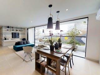 Una sala de estar llena de muebles y una mesa en Avenida Park