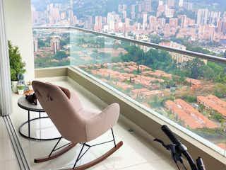 Una vista de una ciudad desde la ventana de un tren en Apartamento en venta en Suramérica de 116m² con Gimnasio...