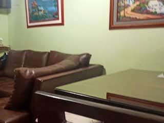 Una sala de estar llena de muebles y un sofá en Casa en venta en Nuevo Muzu, de 62mtrs2
