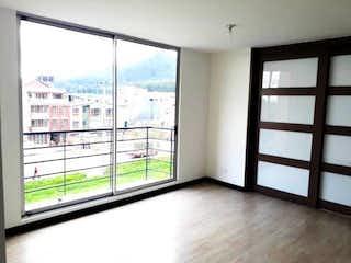 Una vista de una ciudad desde una ventana en Apartamento en venta en Casco Urbano Zipaquirá de 3 habitaciones