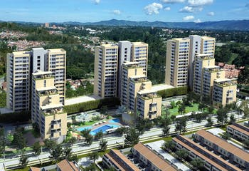 Apartamento en Venta en Rionegro, cuenta con 2 habitaciones y 2 baños.