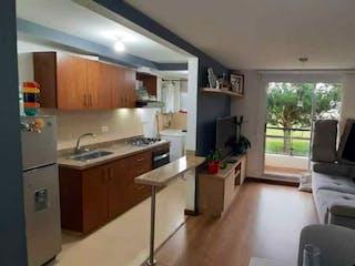 Una cocina que tiene un montón de sillas en ella en !!!Ganga!!!!! se vende apartamento con parqueadero en Zipaquirá