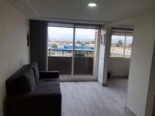 Una sala de estar llena de muebles y una ventana en Apartamento en venta en El Tintal de 46m² con Gimnasio...