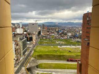 Una vista de una ciudad desde una ventana en Vendo apartamento centro internacional 2 habitaciones