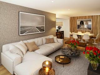 Una sala de estar llena de muebles y una chimenea en Río Guadalquivir 18